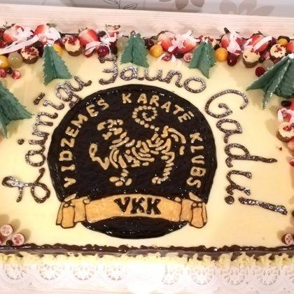 Kūkas ar logo